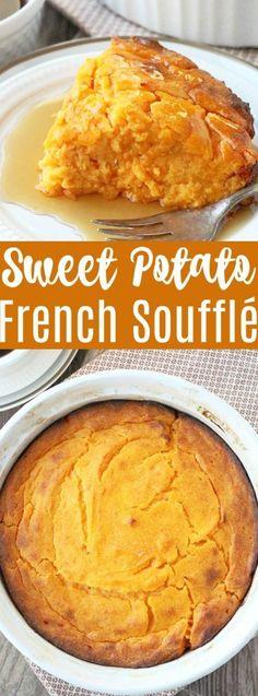 French Style Sweet Potato Soufflé
