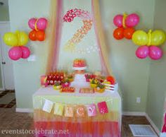 1st birthday butterfly party food menu - Google Search
