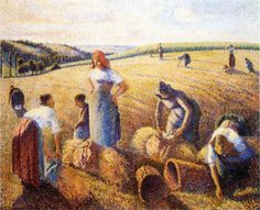 The Gleaners - Camille Pissarro