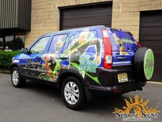 New Jersey Car Wraps advertising