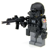 U.S. Air Force Para Rescue PJ Made With Real LEGO(R) Mini-Figure Parts