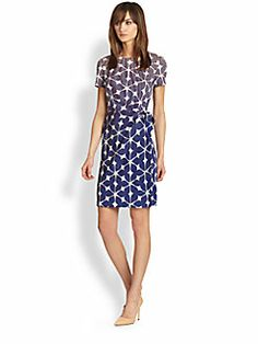 Diane von Furstenberg - Zoe Silk Tie-Waist Dress