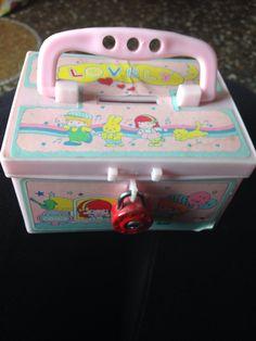 My secret plastic bank box 80s