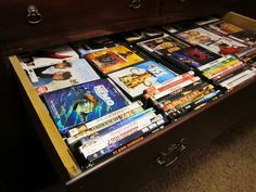 The Uncluttered Lifestyle: Un-Clutter It Thursday #10 - Welcome to the Party!    DVD organization