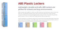 Buy a wide range of school lockers, metal & ABS plastic lockers from Keeper Lockers & Storage, leading plastic lockers supplier in Sydney, Australia. Plastic Lockers, Metal Lockers, School Lockers For Sale, Scratch And Dent, Larger, Sydney, Locker Storage, Purpose, Students