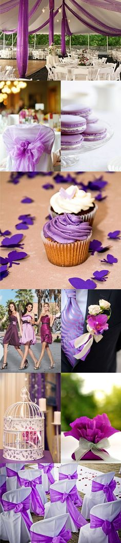 Pretty purple wedding inspiration