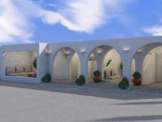 Outdoor Architecture Aloni Hotel, Paros2018 - 2019PrivateWork in progress2145 m2 Blue Design, Modern Design, Paros Island, Hotel Architecture, Hotel S, Source Of Inspiration, Luxury Villa, Alone, Ground Floor