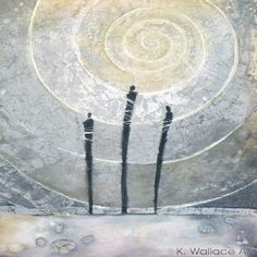 Artist Kerry Wallace  South Africa  Rapturous Aura  Mixed Media