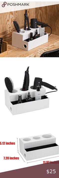 Stainless Steel Hair Dryer Holder Anti-rust Rack Shelf Bathroom Storage Supplies