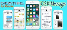 iOS 10 Tips: Everything to Know About iOS 10 Messages