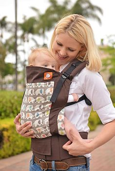 49b08c18f8e Canvas - Tula Release  HAPPY ELEPHANTS  Tula Baby Carrier Ergonomic Baby  Carrier