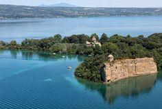 bisentina island on bolsena lake Online Courses, River, Island, Explore, Photography, Outdoor, Image, Grande, Beaches