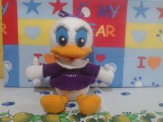 Pata Daisy, Disney, Amigurumi, español