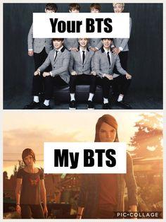 N q eu n ouço BTS, mas meu Before the Storm vem antes ne bb