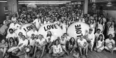 Thousands of people stand beside Big Love Ball in the growing collection of Big Love Ball photos. Do you have the balls to show your LOVE? Fun Loving, Big Love, First Love, Teepees, Love Notes, Problem Solving, First World, Family Portraits, Tipi