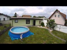 Bestway Fast Set Pool 366x91cm -  Set Up (Timelaps) - YouTube