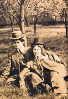 Couple in the Orchard, c. 1910