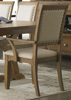 Upholstered Arm Chair 603-C6501A