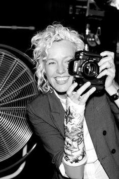 German photographer Ellen Von Unwerth born 1954, Frankfurt, Germany