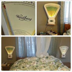 Antika terazi aydınlatma - Vintage scale lighting - recycle lighting
