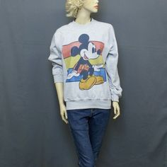 MICKEY MOUSE JUMPER GREY-S