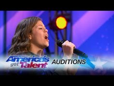 13-Year-Old Singer Gets Golden Buzzer on 'America's Got Talent' For Her Emotional Performance