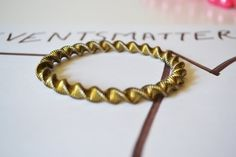 Metal Bracelet Vintage Jewelry Bangle Women Gold Plated #BBR 4 by eventsmatters on Etsy