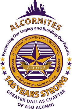 Logo Design (Theme Extension) for the Greater Dallas Chapter of Alcorn State University Alumni, designed by Daymond E. Lavine