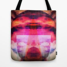 Abstract Tote Bag by FUKU & S.Borkowska - $22.00