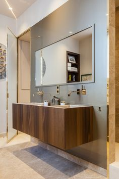 Home Designing — (via An Intricate Luxury Apartment in the City of...