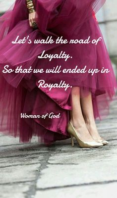 Woman of God...