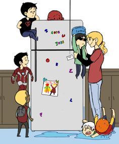 young justice babies | dick grayson Marvel dc comics kate bishop young avengers young justice ...