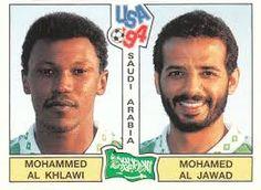 Image result for usa 94 panini stickers saudi arabia