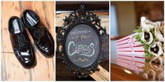 Circus Styled Shoot from Wren Photography » A Northwoods Wedding