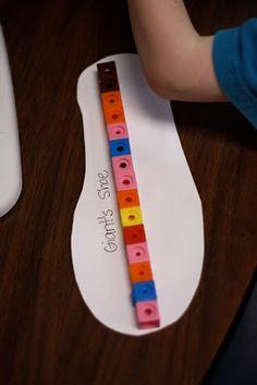 Jack and the Beanstalk - Math Ideas - Fairy Dust Teaching Maths Eyfs, Preschool Math, In Kindergarten, Measurement Activities, Eyfs Activities, Circus Activities, Math Games, Traditional Tales, Traditional Stories