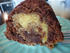 Milkshakes And Pattycakes: Choc Orange Marble Cake - sounds easy - might dye my orange batter a more intense colour.