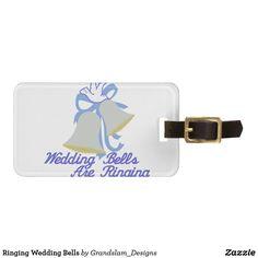 Ringing Wedding Bells Luggage Tag