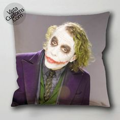 Heath Ledger 5 pillow case, cushion cover ( 1 or 2 Side Print With Size 16, 18, 20, 26, 30, 36 inch )
