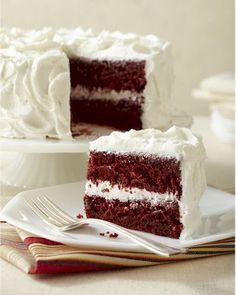 gluten free, dairy free red velvet cake