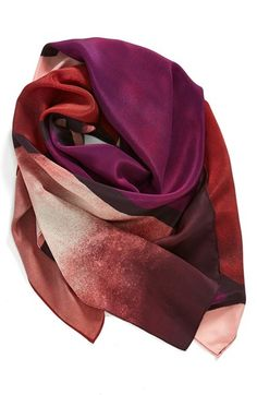 Halogen® Sandwashed Silk Scarf available at #Nordstrom