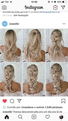 Long Golden Brown Curls - 50 Best Eye-Catching Long Hairstyles for Black Women - The Trending Hairstyle Cute Hairstyles For Medium Hair, Up Dos For Medium Hair, Bride Hairstyles, Hairstyle Wedding, Dread Hairstyles, Homecoming Hairstyles, Hair Medium, Hair Updo, Party Hairstyles