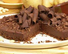 Torta chocopapa, chocolate y pur� de papas