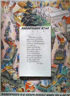 Kalender Wassermann Basel – 1939