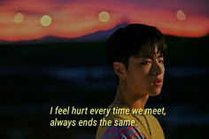 Bts Quotes, Text Quotes, Song Quotes, Aesthetic Qoutes, Aesthetic Pictures, Ikon Songs, Ikon Kpop, Quote Citation, Hurt Feelings