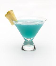Tidal Wave --- Malibu, Pineapple juice, blue curacao, coconut cream
