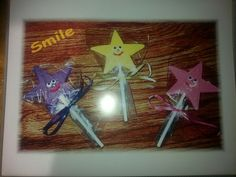Smily stars ... makes a kid smile every time !