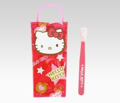 Hello Kitty Travel Toothbrush. Pretty snazzy.