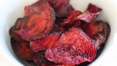 Crispy Baked Beet Chips – Healthy To Fit