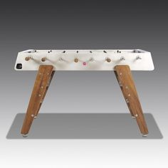 The closest you will come to re-creating that glorious day! A 1966 Anniversary Edition Footaball table. Perfect Gift For Him, Gifts For Him, Table Football, Modern Games, Glorious Days, Wooden Leg, 50th Anniversary, Game Room, Tables