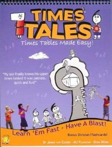 Times tales flip chart. This is awesome for visual spatial learners!!! (many on the Autism Spectrum, or with Dyslexia)